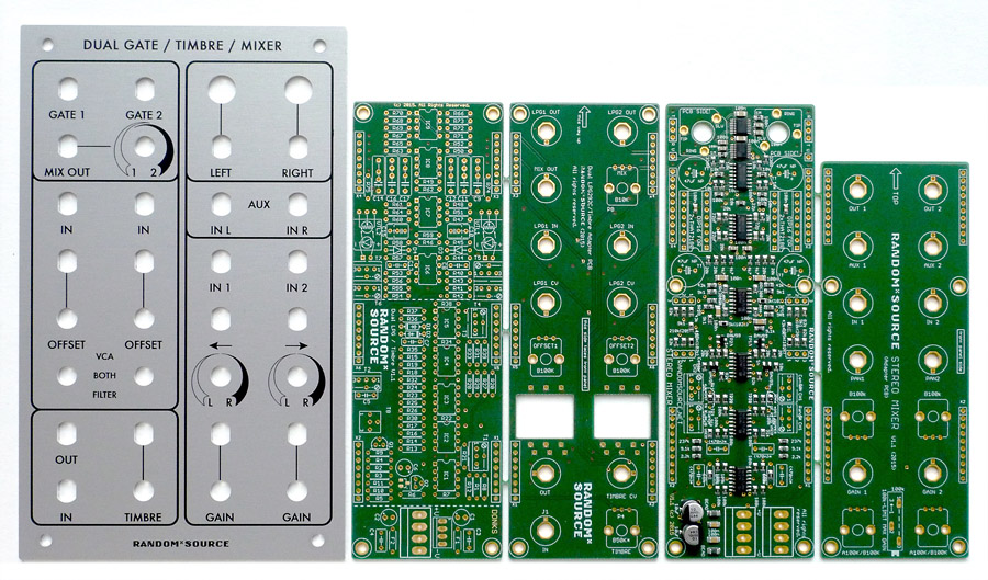RandomSource PCB set