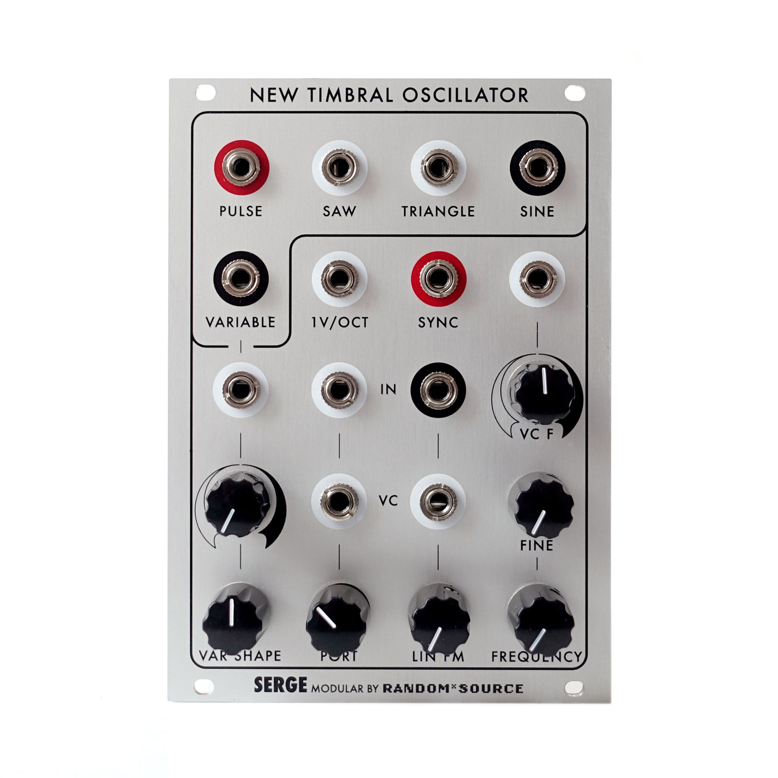Serge New Timbral Oscillator (NTO) by Random*Source