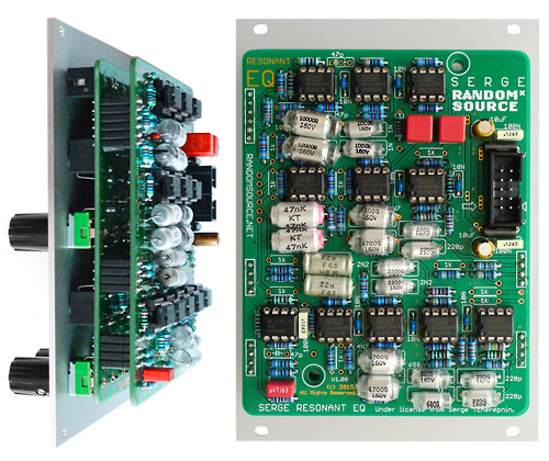 Serge Resonant Equalizer main pcb