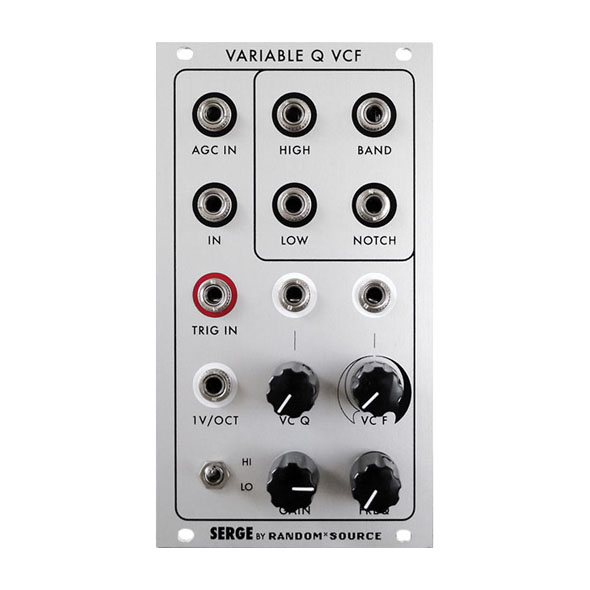 Serge Variable Resonance filter (VCFQ) by Random*Source