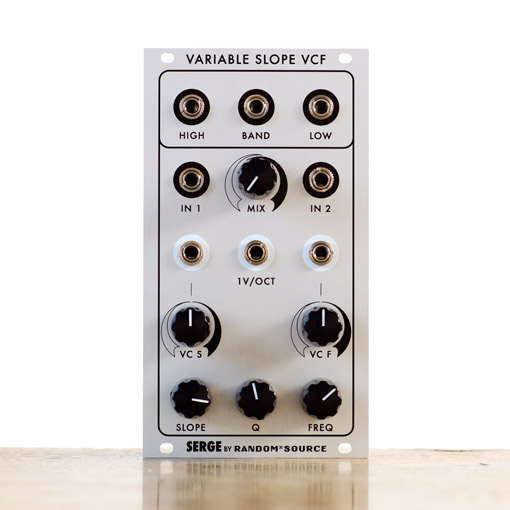 Serge Variable Slope filter (VCFS) by Random*Source